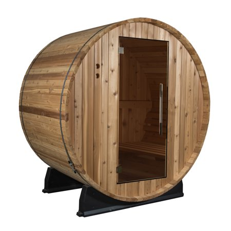 Salem 2 Person Barrel Sauna in Fir
