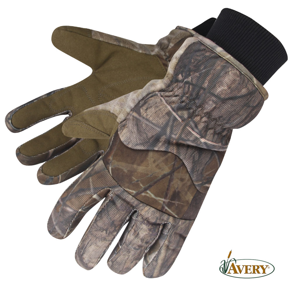 Avery GHG Hunter Waterproof Insulated Gloves (2X)- BuckBrush by