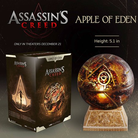 best service 49846 eb3db Assassin's Creed Movie Apple of Eden Replica