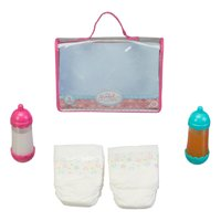 My Sweet Love Diaper Play Set for Baby Dolls, 5 Pieces