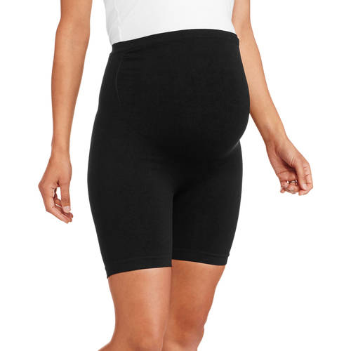 "Nurture by Lamaze Maternity Over-the-Belly 6"" Seamless Thigh Shaper and Support"