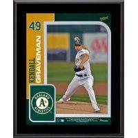"Kendall Graveman Oakland Athletics 10.5"" x 13"" Sublimated Player Plaque"