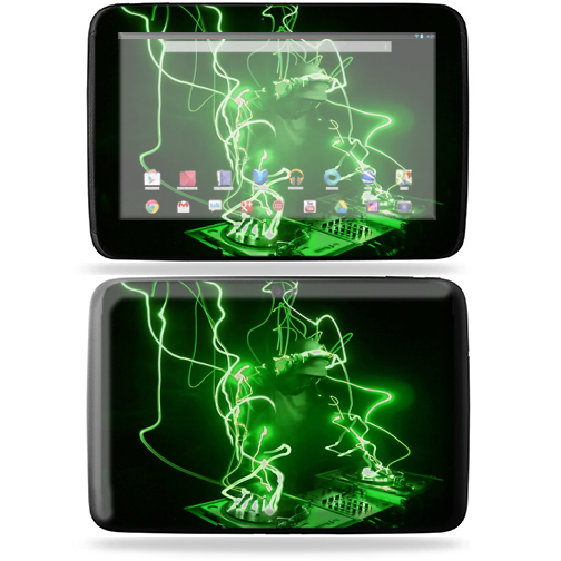 "Mightyskins Protective Skin Decal Cover for Samsung Google Nexus 10 Tablet with 10"" screen wrap sticker skins Scratch"