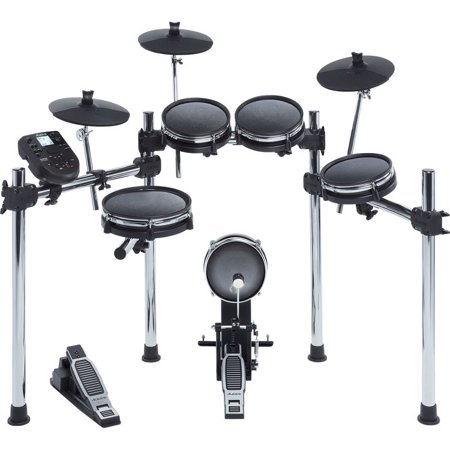 Alesis SURGE MESH KIT Eight-Piece Electronic Drum Kit with Mesh Heads (Alesis Audio Mixer)