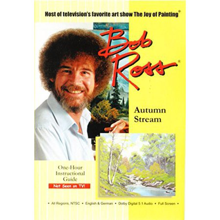 Bob Ross The Joy Of Painting  Autumn Stream  Dvd