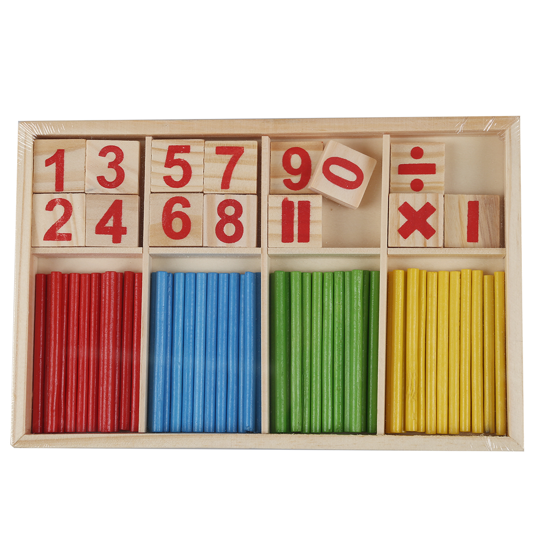 THZY Baby Children Wooden Counting Math Game Mathematics Toys Kids Preschool Education... by THZY
