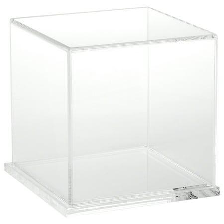 Plymor Brand Clear Acrylic Display Case  6  W X 6  D X 6  H