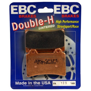 EBC Double-H Sintered Brake Pads Front (2 sets Required) Fits 97-01 Yamaha Royal Star XVZ1300AT Tour Classic