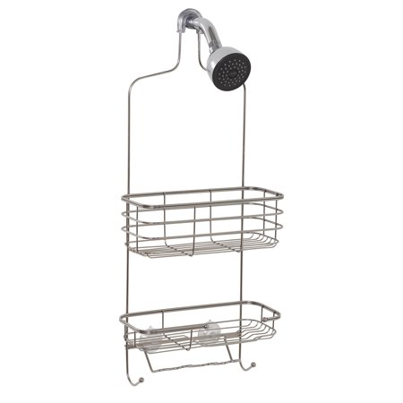Zenna Home Premium Over the Shower Caddy, Stainless Steel