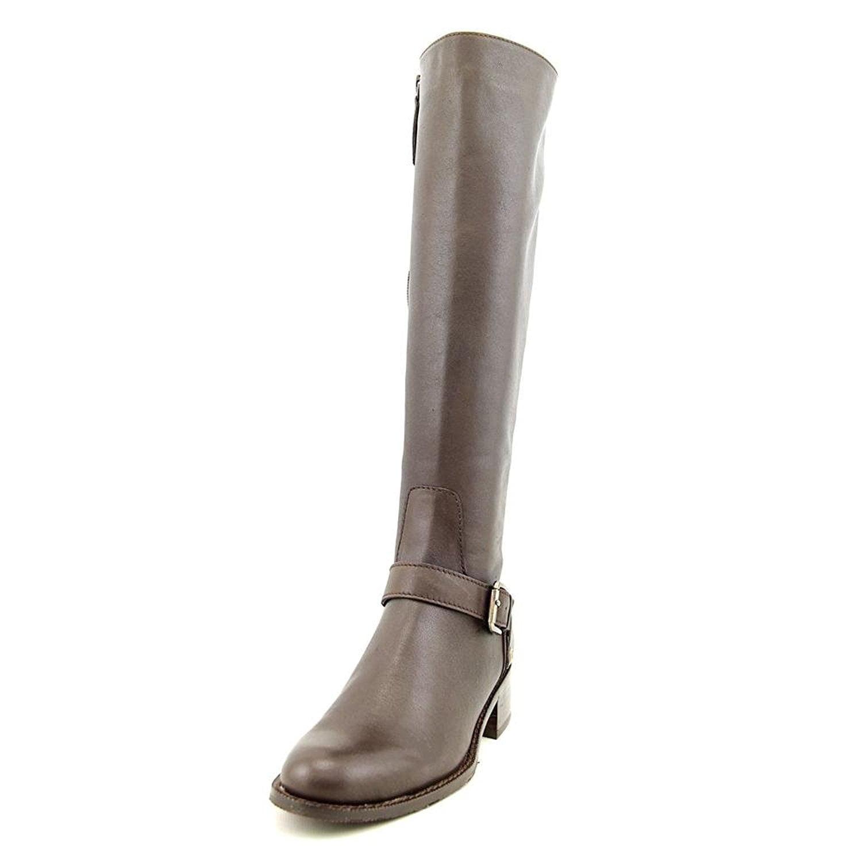 Delman Womens D-Soar Leather Tall Equestrian Boot