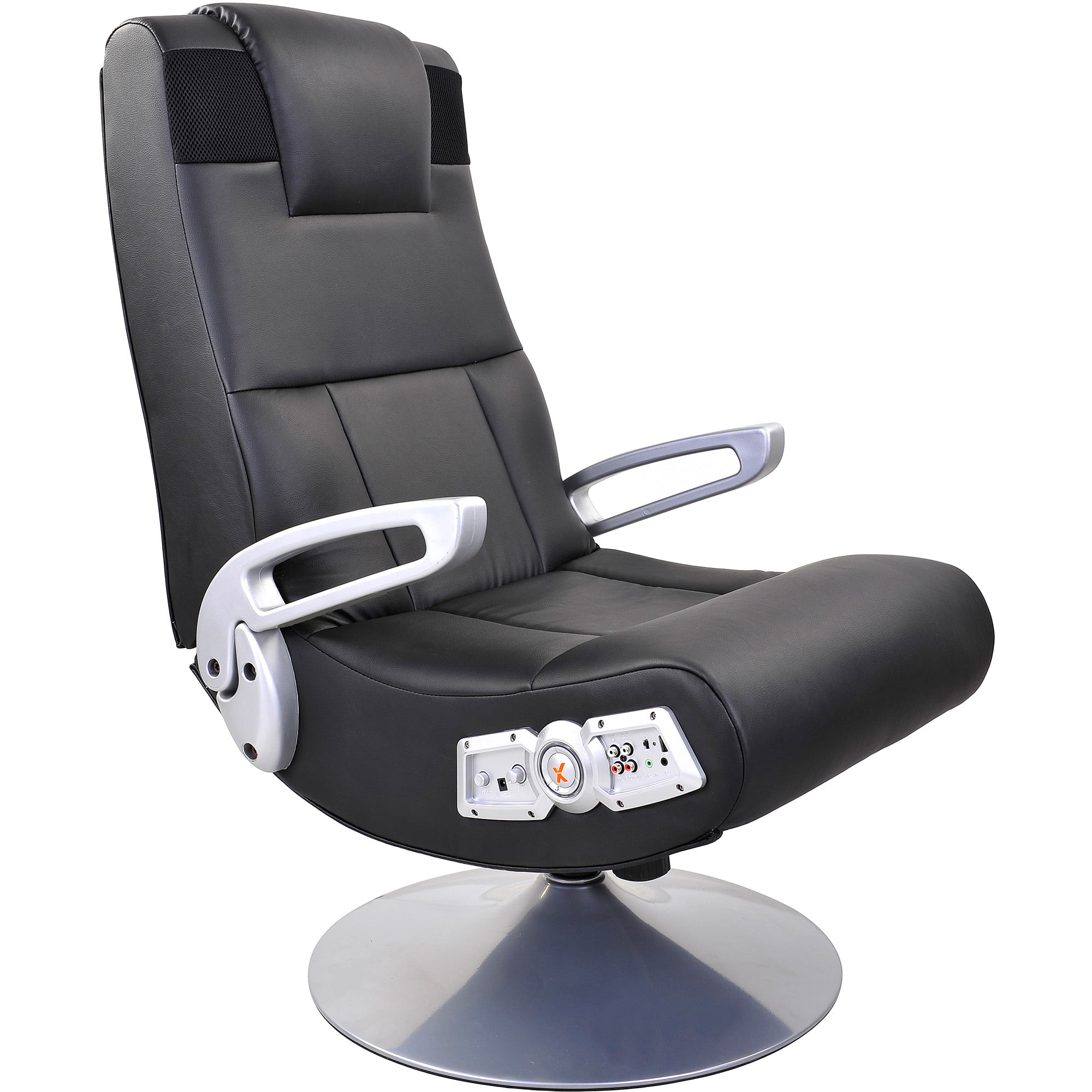 X Rocker Pedestal Video Gaming Chair With Bluetooth Technology