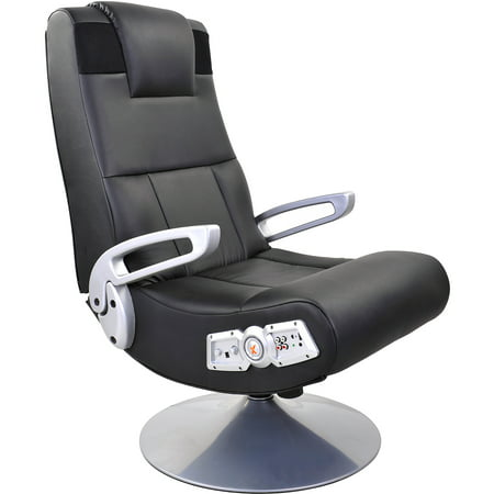X Rocker Pedestal Video Rocker Gaming Chair With Bluetooth