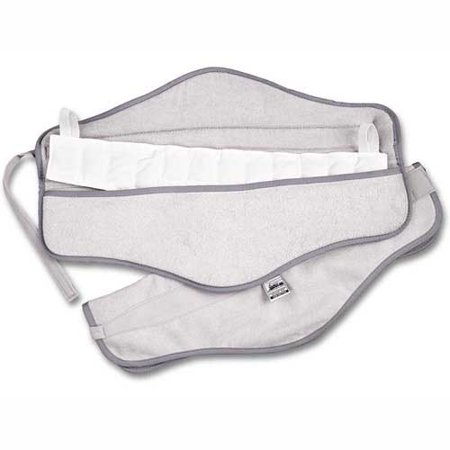 Hydrocollator set, neck (steam pack and velour foam-filled pocketed cover)