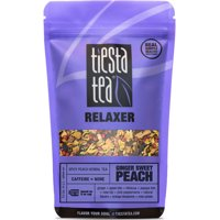 Tiesta Tea Relaxer, Ginger Sweet Peach, Loose Leaf Herbal Tea Blend, Caffeine Free, 2.2 Ounce Pouch