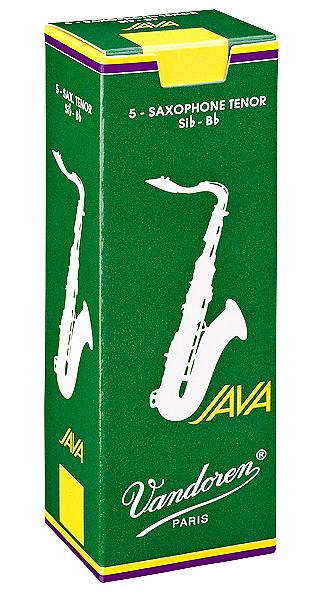 VANDOREN Java Tenor Sax Reeds 5 Pack of 3.0 Strength by Vandoren