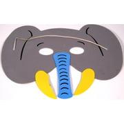 Grey Elephant Foam Mask - E410, One Size