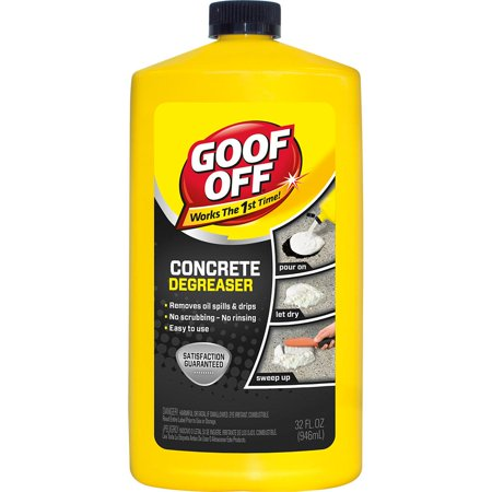 Goof Off® FG820 Concrete Degreaser, 32 Oz