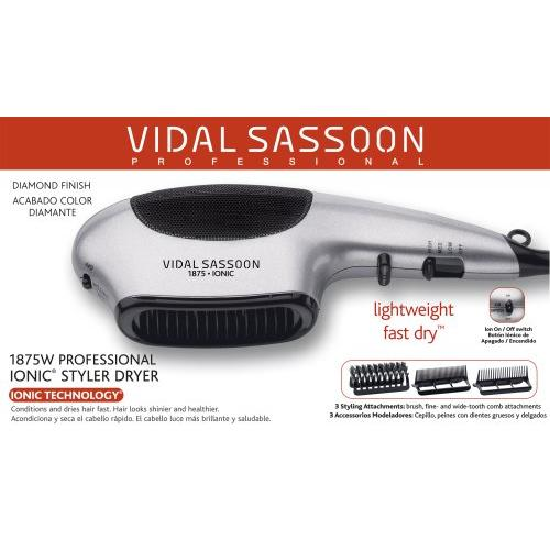 Vidal Sassoon Vs783n3 1875w Ionic Styler Dryer