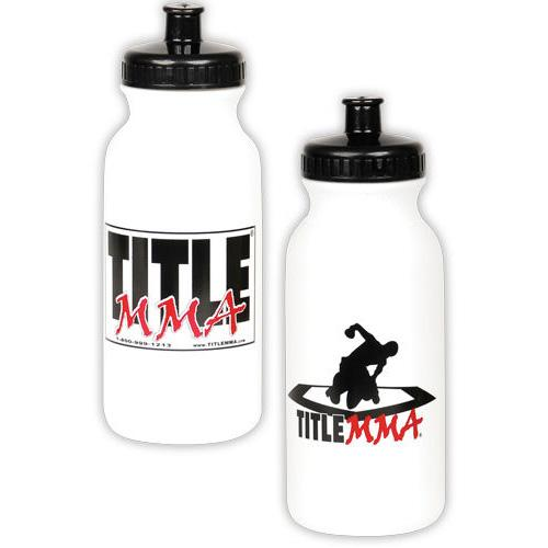 Title MMA Individual Water Bottle