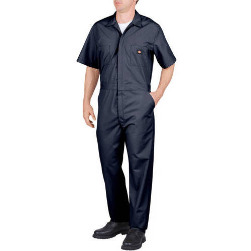 Men's Big & Tall Short Sleeve Deluxe Poplin Coverall by Dickies