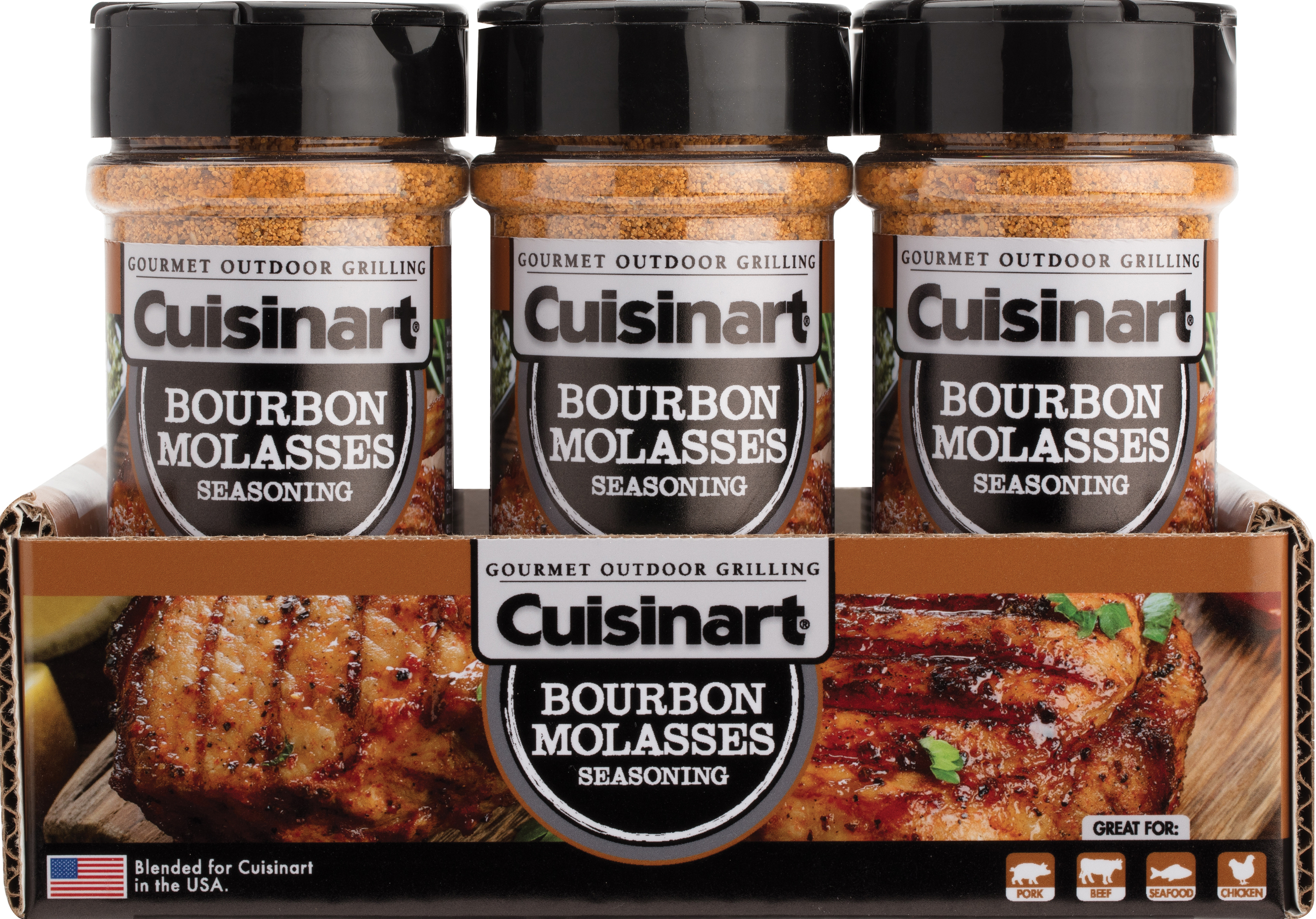 Cuisinart Bourbon Molasses Seasoning - Walmart com