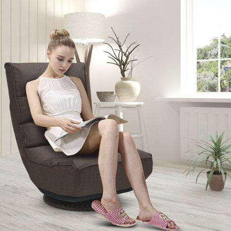 360 Degree Swivel Folding Game Chair Floor Lazy Sofa Chair