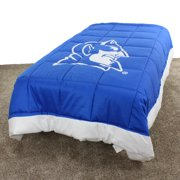 "Duke Blue Devils 2 Sided Reversible Comforter, 100% Cotton Sateen, 68"" x 86"", Twin"