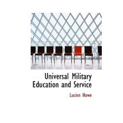 Universal Military Education and Service
