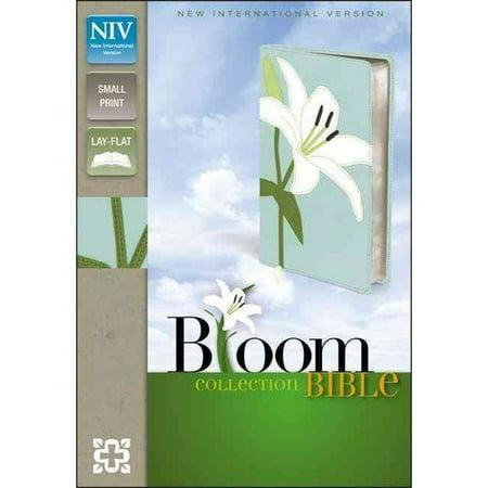 Holy Bible  New International Version White Lily Italian Duo Tone