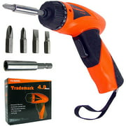 stalwart 4.8-volt cordless screwdriver with charger