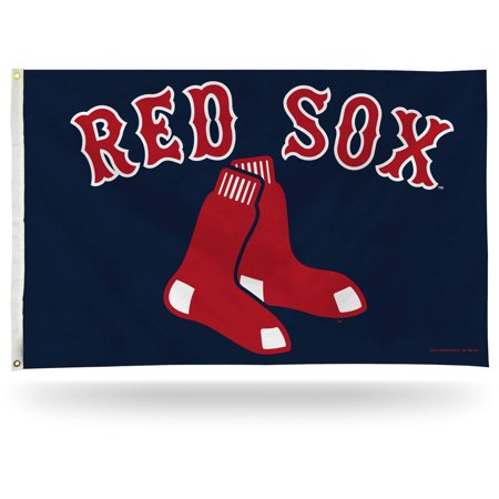 Rico Industries MLB 3' x 5' Banner Flag, Boston Red Sox (Halloween Six Flags America)