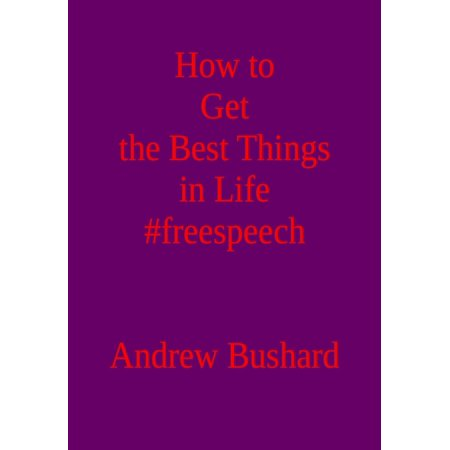 How to Get the Best Things in Life #freespeech - (Best Thing To Get Oil Off Driveway)