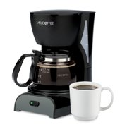 Mr. Coffee 4-Cup Switch Coffee Maker, Black (DR5-NP)