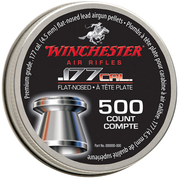 Winchester Flat Nosed Pellet .177