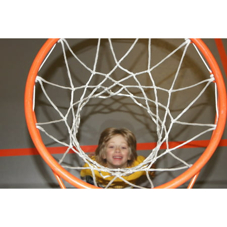 Canvas Print Just Basketball Sports Move Fun Stretched Canvas 10 x