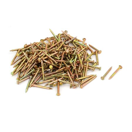 300pcs 30mm Length Steel Point Tip Cement Nail Bronze Tone - image 2 of 2