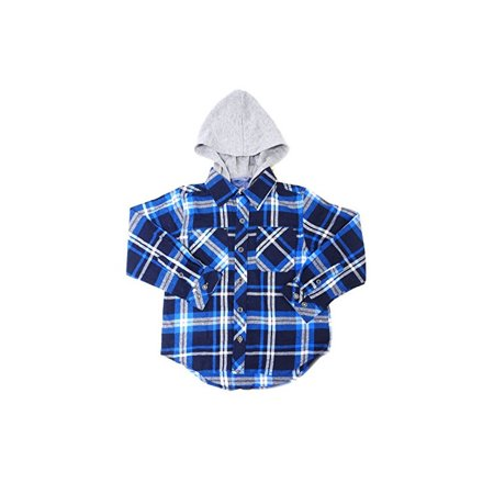 Weatherproof Garment CO. Boys Size X-Small(5/6) Hooded Shirt, (Weatherproof Garment)