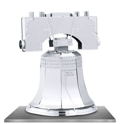 Fascinations Metal Earth 3D Laser Cut Model - Liberty Bell