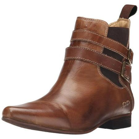 Bed Stu Women's Ravine Tan Rustic Ankle Boot (Stu Who)