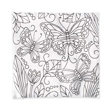 Color Pops Color-Your-Own Pillow Craft Kit](Pillow Crafts)