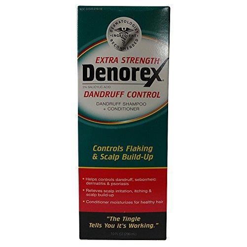 4 Pack - Denorex Extra Strength Dandruff Shampoo + Conditioner 10oz Each
