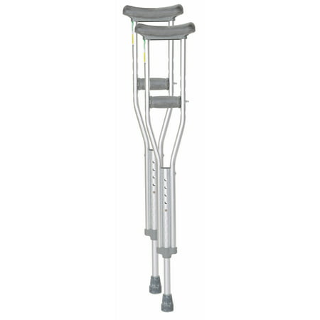Essential Medical Supply Endurance Adult Crutches, 5'2