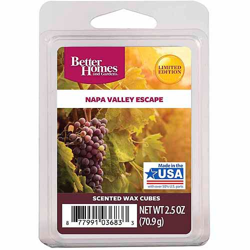 Better Homes And Gardens Wax Cubes Napa Valley Escapes