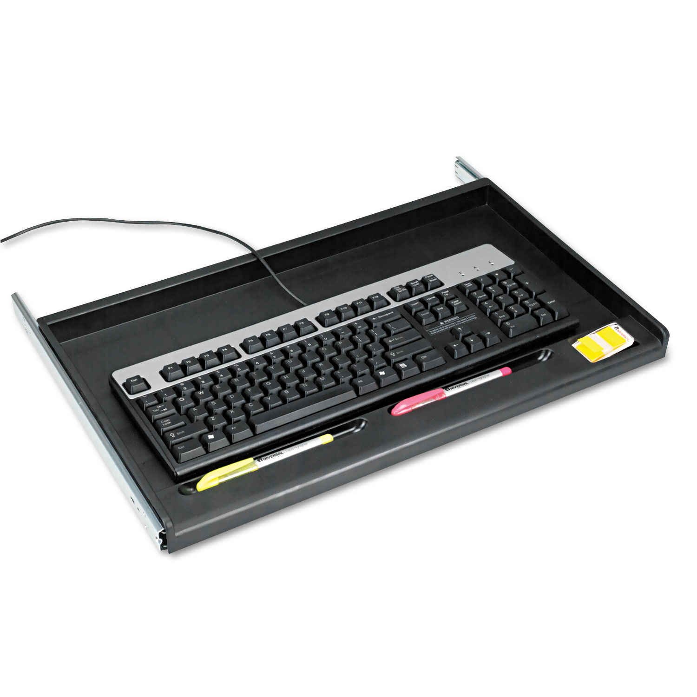 Innovera Standard Desktop Keyboard Drawer Light Gray 20-5//8w x 10d