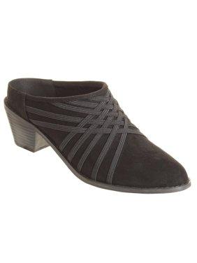 Zee Alexis Womens Melissa Clog Shoes Black 8.5 M
