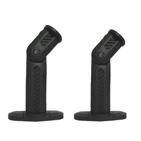 VideoSecu One Pair of Deluxe Speaker Mount for Home Theater Surround Sound Satellite Speaker on Wall and Ceiling