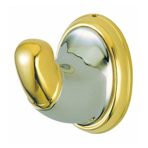 Kingston Brass  BA627  Robe Hook  Blowout Pricing  Accessory  Single Hook  ;Satin Nickel / Polished Brass