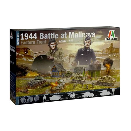 Italeri 6182 Battle at Malinava 1944 Eastern Front 1/72 Scale Diorama Set