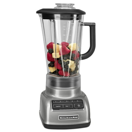 KitchenAid Diamond 5 Speed Blender Contour Silver (KSB1575CU)