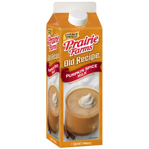 Prairie Farms Old Recipe Pumpkin Spice Milk, 32 oz